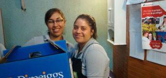 Así recibieron las mochilas 2015 en la tienda Homecenter Hc Cauquenes y constructor Valparaíso