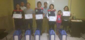 Ganadores de Temuco quedaron felices con sus mochilas 2015