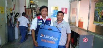 Así recibieron sus mochilas los ganadores de Iquique