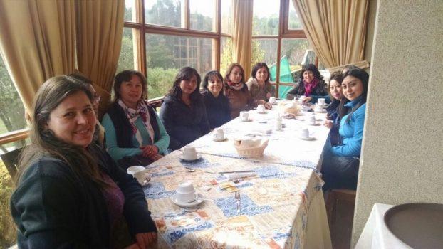 Socias del Sindicato Homecenter celebraron el Día de la Madre en Huallilemu