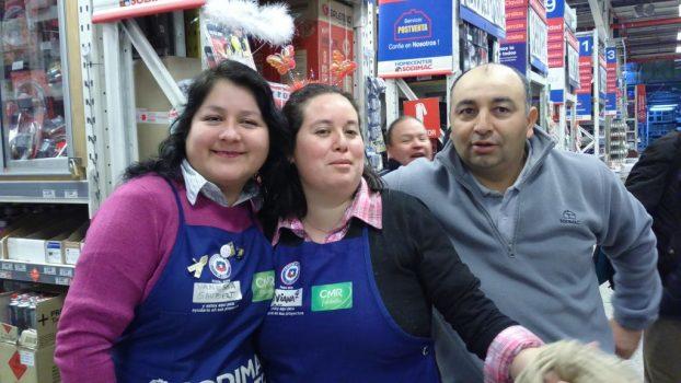 Así se vive el aniversario en la tienda Los Carrera de Concepción