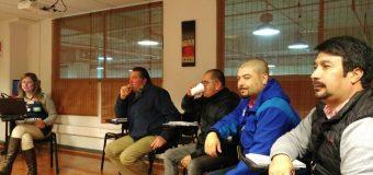 Directores se reúnen con delegados de la Octava Región