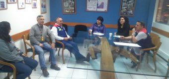 Directoras visitaron tienda de Las Condes