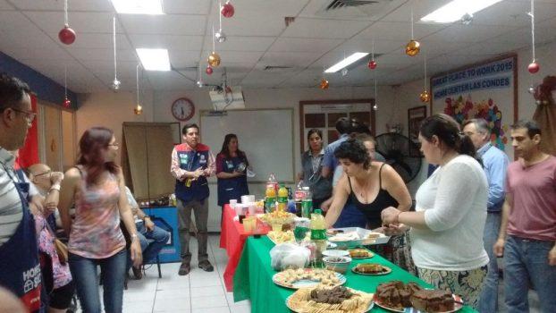 HC Las Condes despidió el año con una grata convivencia