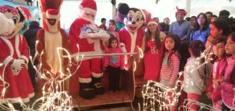 Villarrica celebró Fiesta de Navidad