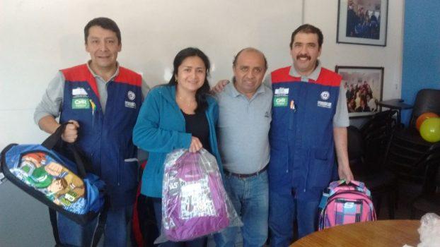 Socios de Osorno recibieron sus mochilas 2016