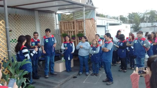 Tienda Las Condes reinauguró zona de fumadores