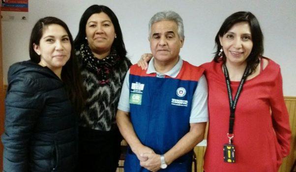 Directoras realizaron reunión en Homecenter Ñuble