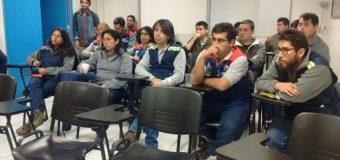Directores realizaron reunión en la tienda Homecenter de Chillán
