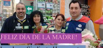 FELIZ DÍA DE LA MADRE, LES DESEA SINDICATO HOMECENTER