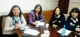 Directoras realizaron reunión en la tienda Homecenter Constructor Ñuñoa