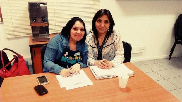 Directora Claudia Ordenes realizó reunión en Homy Plaza Egaña