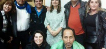 ENCARGADA DE LA ACCIÓN INTERNACIONAL DE COMISIONES OBRERAS DE ESPAÑA SE REUNIÓ CON DIRIGENTES DEL SINDICATO HOMECENTER