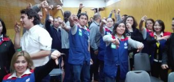 Masiva reunión se realizó en Puerto Montt para informar de Negociación Colectiva