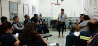 Directora Pamela Martínez explicó Contrato Colectivo en Huechuraba