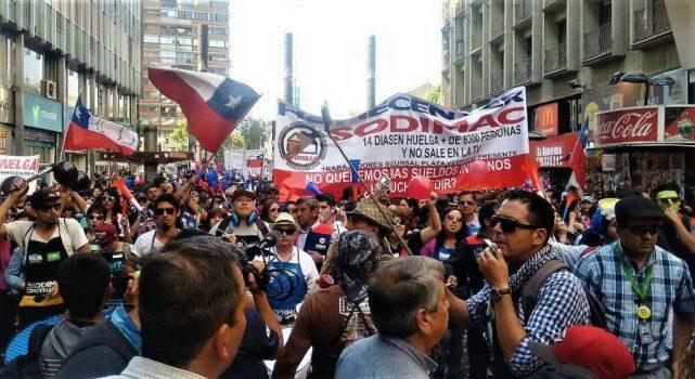 Marcha del Sindicato Homecenter reunió más de 3 mil personas
