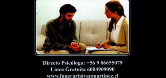 APOYO PSICOLÓGICO FUNERARIA IVÁN MARTÍNEZ