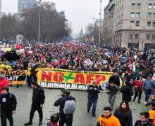 NO + AFP SE MANIFIESTA EN TODO CHILE POR EL DERECHO A UNA JUBILACIÓN JUSTA