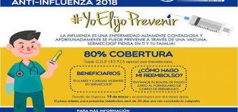 CAMPAÑA VACUNACIÓN ANTI-INFLUENZA 2018