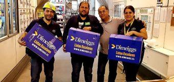 ENTREGA MOCHILAS CON ÚTILES 2019
