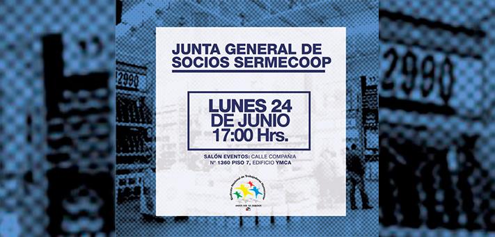 JUNTA GENERAL DE SOCIOS SERMECOOP